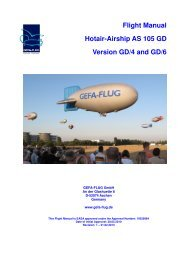01. AS105GD4.6 Flight Manual 19 Brenner GD4 - Gefa-Flug