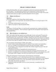 PHASE 5: DESIGN PHASE - DoIT Website