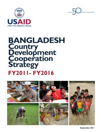 Bangladesh Country Development Cooperation Strategy - usaid