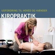 Folder om uddannelsen - Dansk Kiropraktor Forening