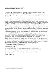Vejledning om opsigelse, 2008 - Dansk Kiropraktor Forening