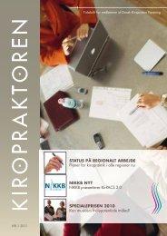kiropraktoren nr. 1 - februar 2011 - Dansk Kiropraktor Forening