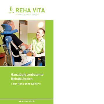 Ganztägig ambulante Rehabilitation - REHA VITA