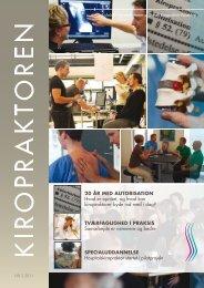 kiropraktoren nr. 2 - april 2011 - Dansk Kiropraktor Forening