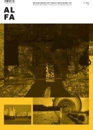 ALFA 1 ¦ 2012 - Fakulta architektúry STU