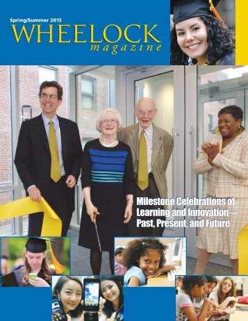 Spring 2013 edition - Wheelock College