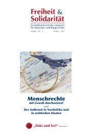 Freiheit & Solidarität - Christoph Strässer