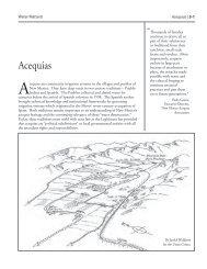 Acequias - Utton Transboundary Resources Center