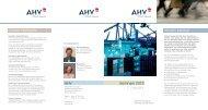 Seminare 2012 2. Halbjahr Wissen bewegt. Unsere Highlights. AHV