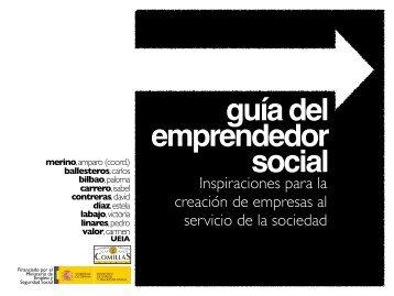 Guía del Emprendedor Social - Universidad Pontificia Comillas