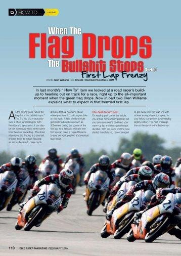 When the Flag Drops - NZ Post Classic Racing Association