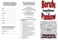 Einverständniserklärung - Jugendportal Pankow