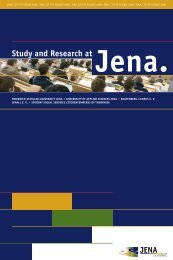 Study and Research at - Jena