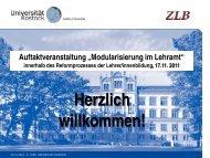 60 SWS - Universität Rostock