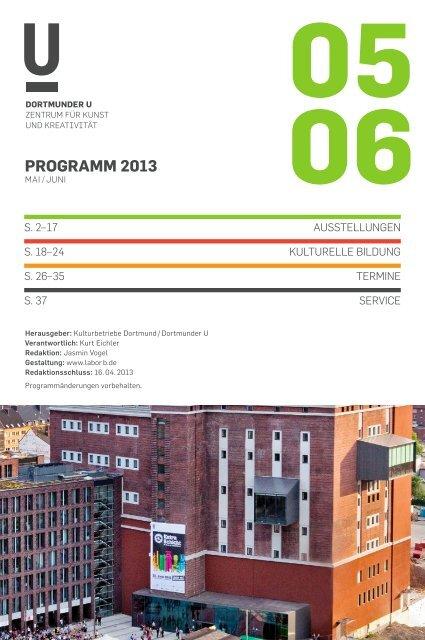 programm 2013 - Dortmunder U
