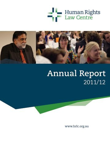 Annual Report - Human Rights Law Centre