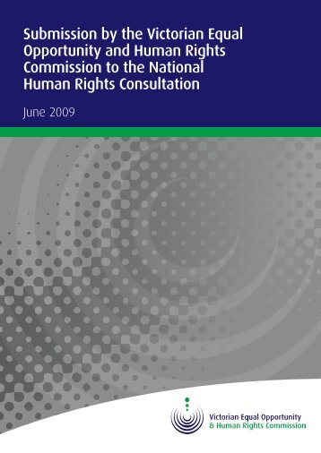 Submission - Human Rights Law Centre