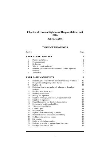 victorian charter of rights and responsibilities pdf
