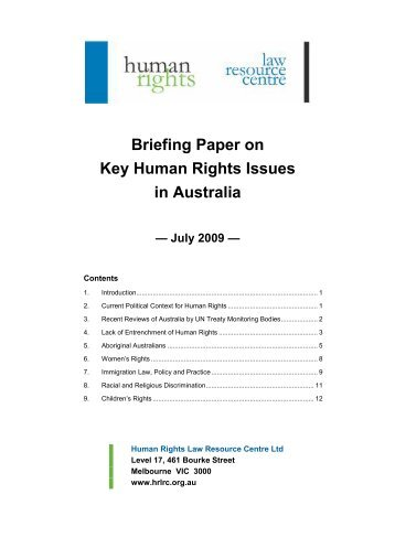 Human rights issues essay