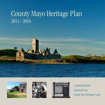 County Mayo Heritage Plan 2011 - 2016 - Mayo County Council