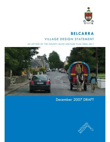 Belcarra Draft Village Design Statement - Mayo County Council