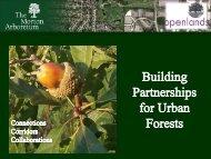 Regional Tree Initiatives - Arbor Day Foundation
