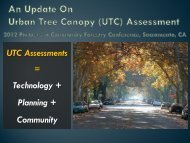 A Comprehensive Update on Tree Canopy Assessment - Arbor Day ...