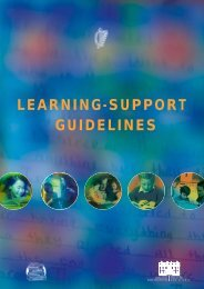 Learning Support Guideline (File Format PDF 472KB) - Special ...