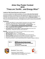 """""""Trees are Terrific… and forests are too - Arbor Day Foundation"""