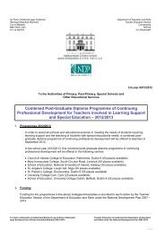 Combined Post-Graduate Diploma Programme of ... - Circulars.gov.ie