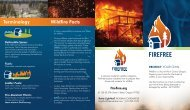 Protect Your Own Brochure - FireFree.org