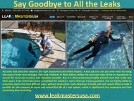 Say Goodbye to All the Leaks