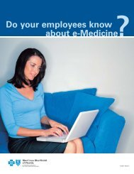 Do Your Employees Know About E-Medicine - Blue Cross and Blue ...