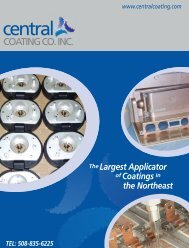 Download our new brochure in PDF format - Central Coating