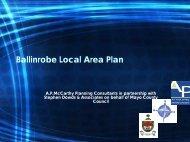 Ballinrobe LAP Presentation - Mayo County Council