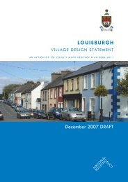 Louisburgh Draft Village Design Statement - Mayo County Council