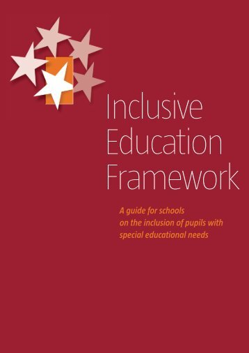 Inclusive Education Framework - National Council for Special ...