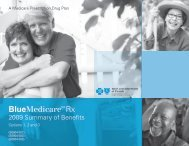 BlueMedicare Rx - Blue Cross and Blue Shield of Florida