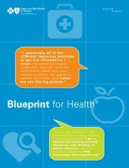 Blueprint for Health® - Blue Cross and Blue Shield of Florida