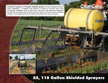 55, 110 Gallon Shielded Sprayers - OESCO, Inc.