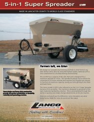 Farmers talk, we listen - OESCO, Inc.