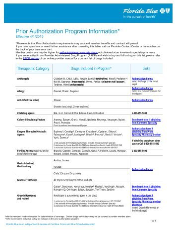 Chiropractic Pre- Authorization Request Form - Blue Cross and Blue ...