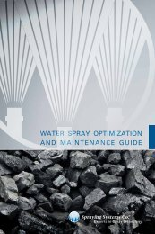 water spray optimization and maintenance guide - Spraying ...