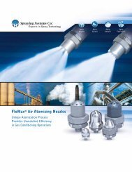 FloMax® Air Atomizing Nozzles - Spraying Systems Co.