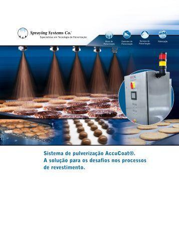 Sistema de pulverização aquecido AccuCoat® A solução para os ...