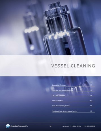 VESSEL CLEANING - Spraying Systems Co.