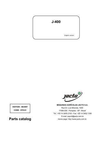 JACTO - Parts catalog