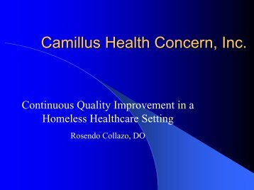 Camillus Health Concern, Inc.
