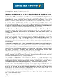 Béchir sous mandat d'arrêt - International Refugee Rights Initiative