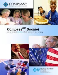 Compass Booklet - Blue Cross and Blue Shield of Florida